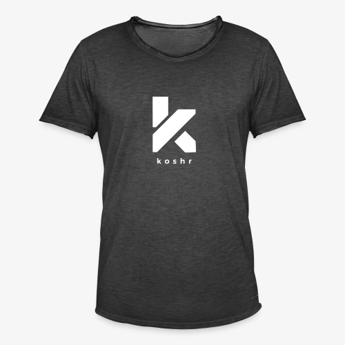 Koshr Official Logo - - Men's Vintage T-Shirt