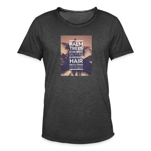 Palm shirts - Männer Vintage T-Shirt