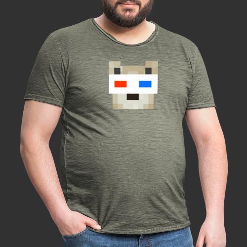 JRG logo Merch. - Mannen Vintage T-shirt