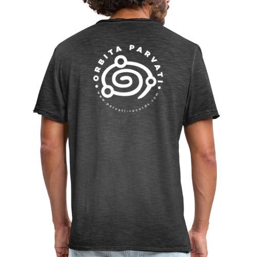 Orbita Parvati white logo - Men's Vintage T-Shirt