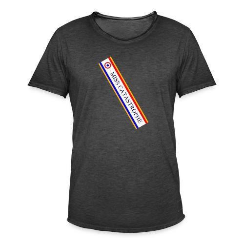 Miss Catastrophe - T-shirt vintage Homme