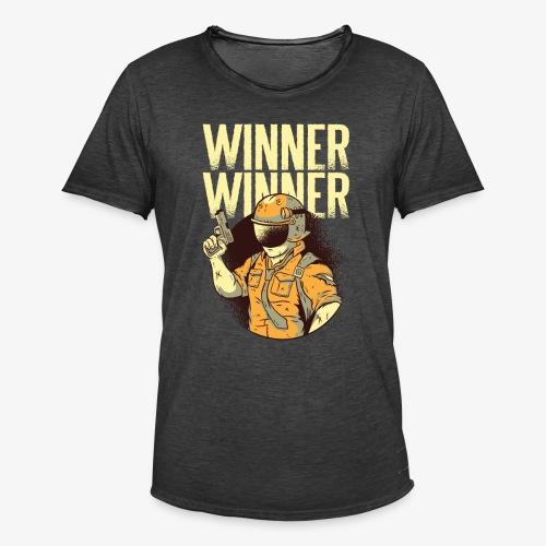 Winner Winner Gaming Gamer - Men's Vintage T-Shirt