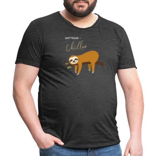 Auftragstchiller Super Cutes und Lustiges Design - Männer Vintage T-Shirt