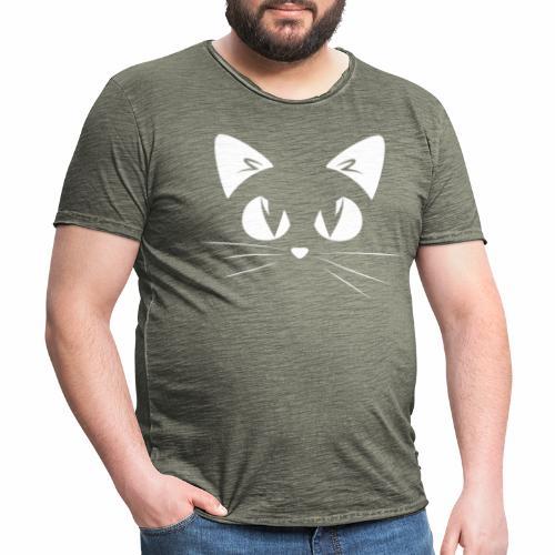GATTO ARRABBIATO2 - ANGRY CAT2 - Maglietta vintage da uomo