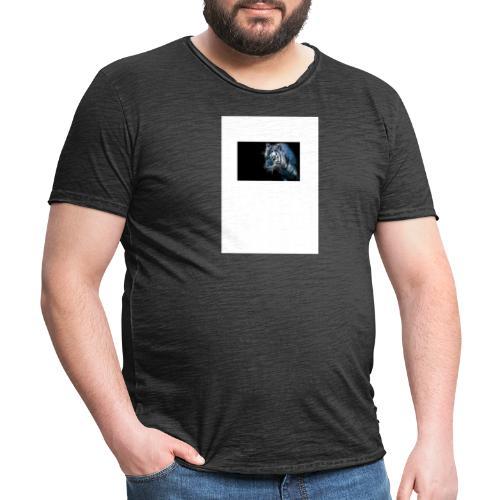 cooler Tiger - Männer Vintage T-Shirt