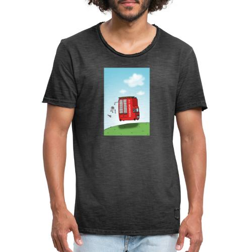 Feuerwehrwagen - Männer Vintage T-Shirt
