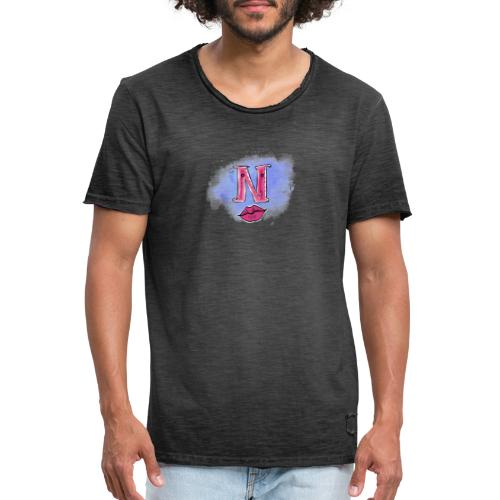 Coole hoodie - Mannen Vintage T-shirt