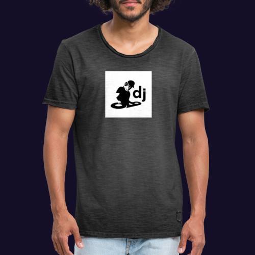DJ Vinyl Sticker Wall Window Car Window Laptop Gra - Männer Vintage T-Shirt