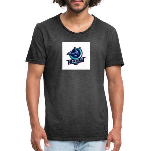 BlackNinja - Männer Vintage T-Shirt