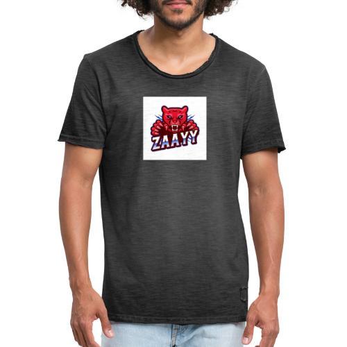 Zaayy - Männer Vintage T-Shirt