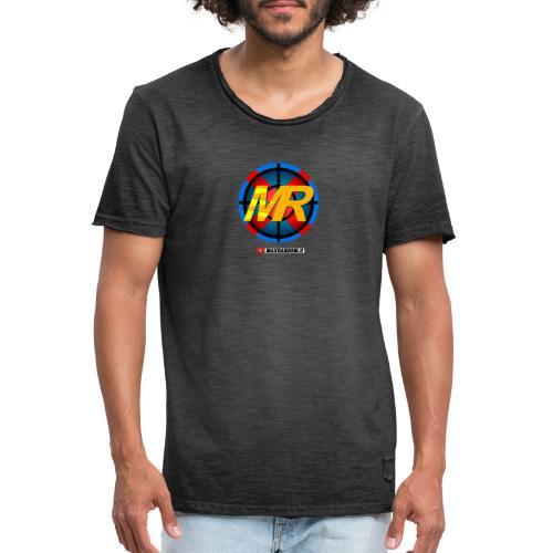 Logo MR - Maglietta vintage da uomo