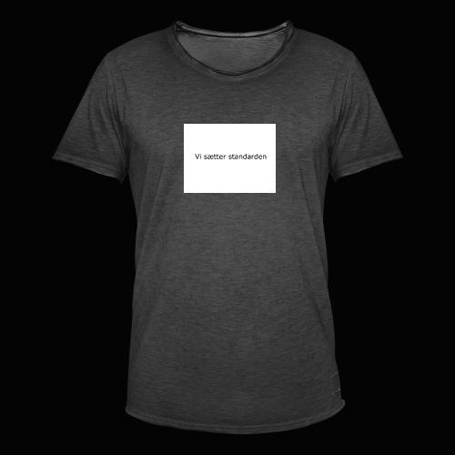 Vi Sætter Standarden - Herre vintage T-shirt