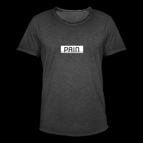 pain - Koszulka męska vintage