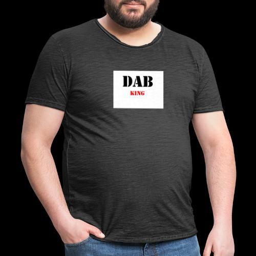 DABKING - Männer Vintage T-Shirt