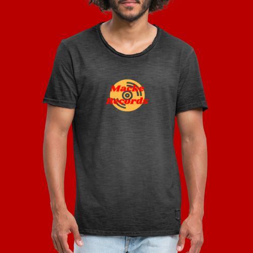 mackerecords merch - Vintage-T-shirt herr