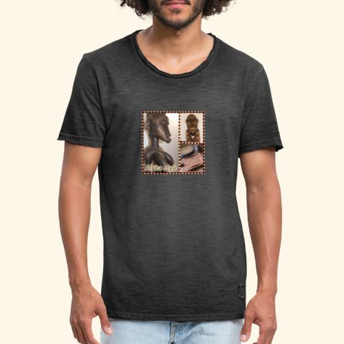 africastyle9 - T-shirt vintage Homme