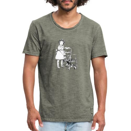 Nelly et sa chaise - T-shirt vintage Homme