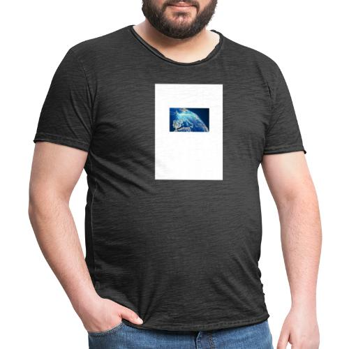 Die welt ohne Strom - Männer Vintage T-Shirt