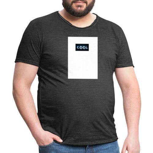 cool - Männer Vintage T-Shirt