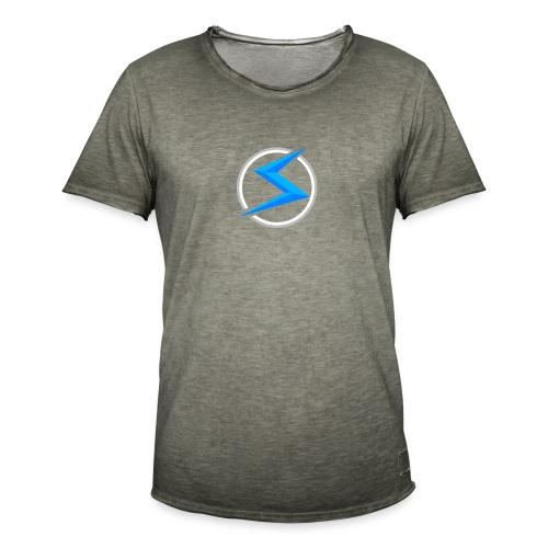 #1 model - Mannen Vintage T-shirt