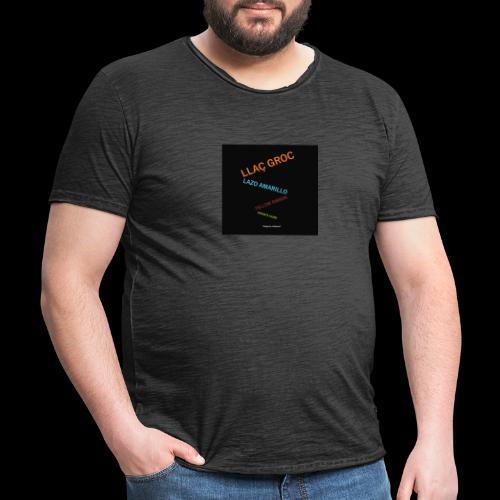 Llac Groc Suggestiu - Camiseta vintage hombre