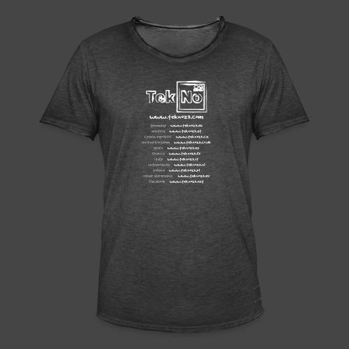 tekno23 - T-shirt vintage Homme
