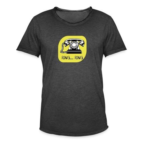 ring ring telefoon - Mannen Vintage T-shirt