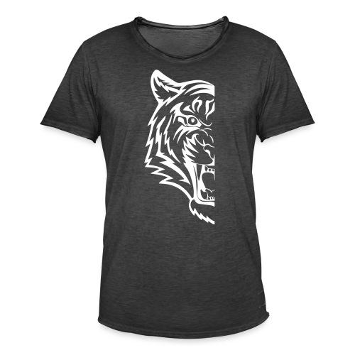 mezza tigre - Maglietta vintage da uomo