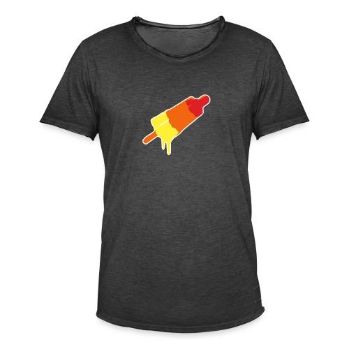 Raket - Mannen Vintage T-shirt