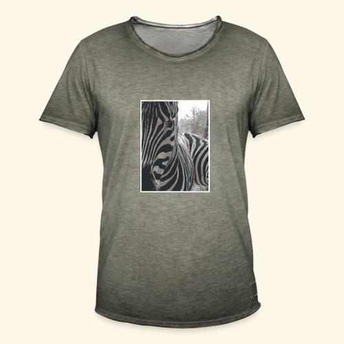 Zebrack&White - T-shirt vintage Homme