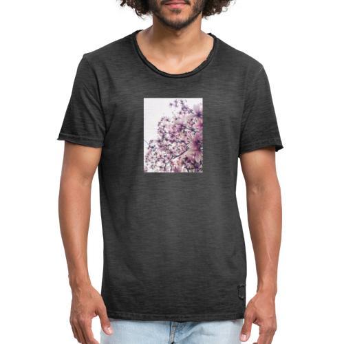 magnolia - Maglietta vintage da uomo
