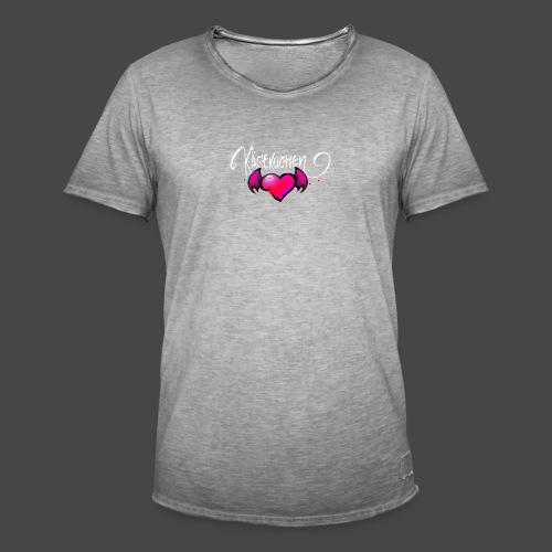 Logo and name - Men's Vintage T-Shirt
