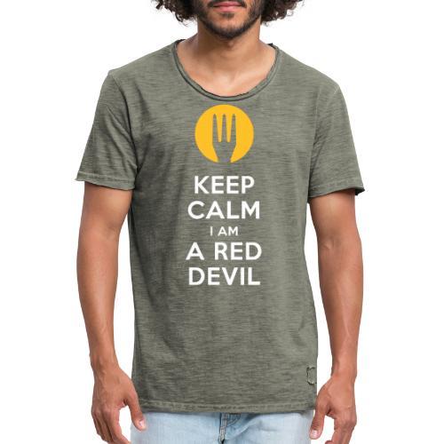 keep calm Belgique - Belgium - Belgie - T-shirt vintage Homme