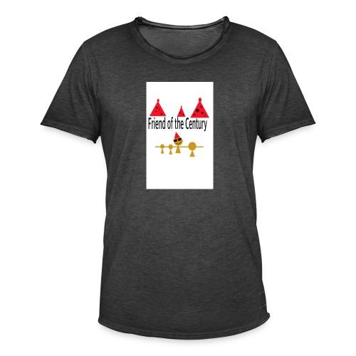 amigo del siglo - Camiseta vintage hombre