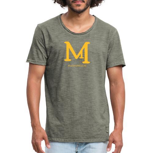 M de Mesa - Camiseta vintage hombre