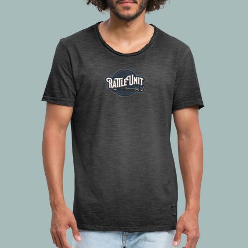 Rattle Unit - Mannen Vintage T-shirt