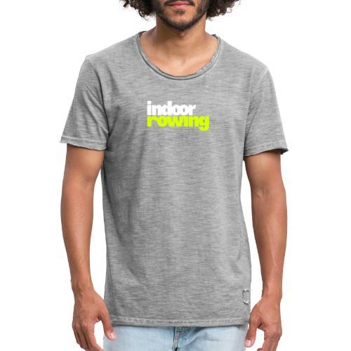 indoor rowing logo 2c - Men's Vintage T-Shirt