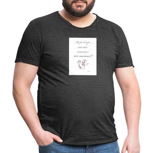2444567F EC2A 4400 A87F CBB8C45AA39D - Camiseta vintage hombre