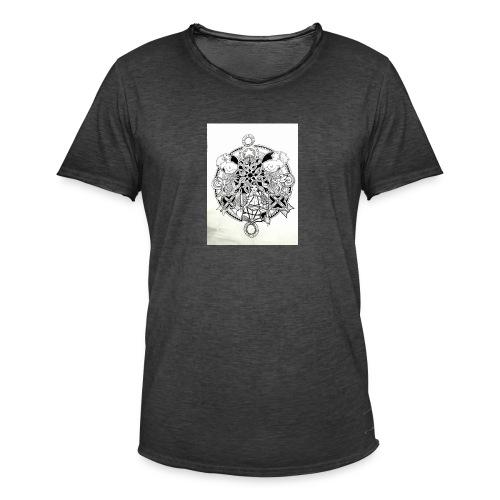 guerriere celtique entrelacs bretagne femme - T-shirt vintage Homme