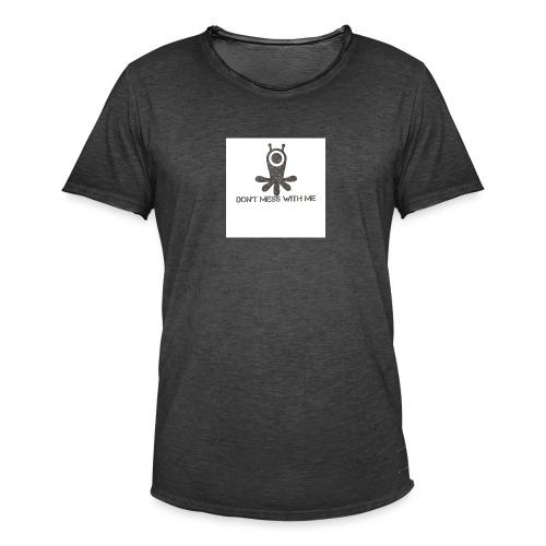 Dont mess whith me logo - Men's Vintage T-Shirt