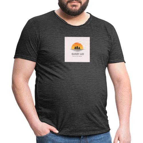 Roblox Airline Barøy Air - Men's Vintage T-Shirt