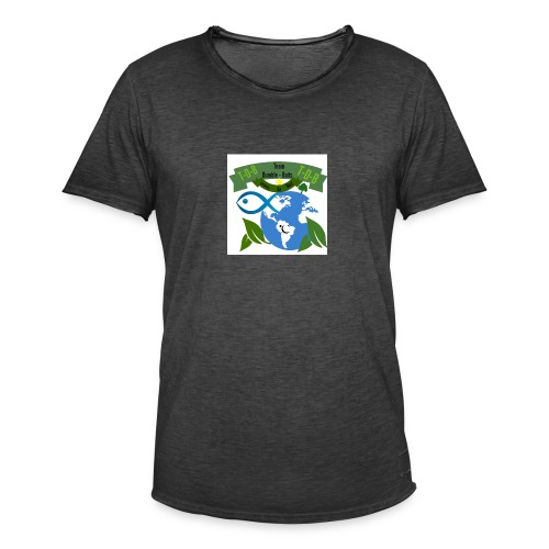 logo dumble baits - T-shirt vintage Homme