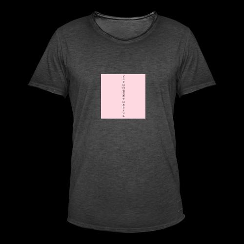 pink is not gay - Koszulka męska vintage