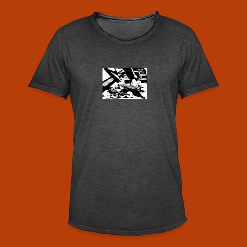 Speedskating - Männer Vintage T-Shirt
