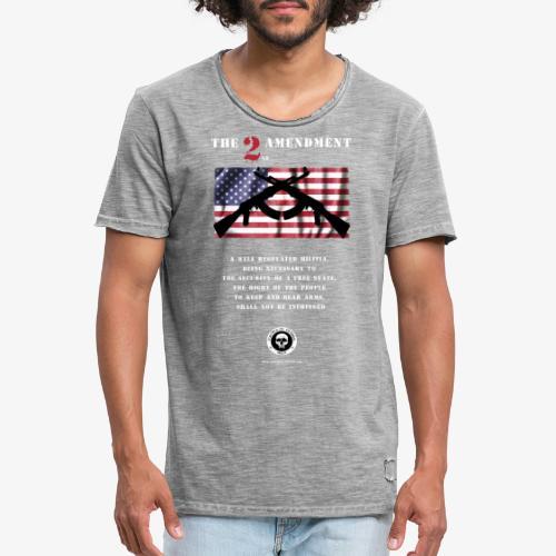 2nd Amendment - Männer Vintage T-Shirt