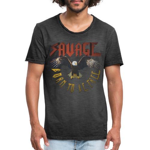 vintage eagle - Camiseta vintage hombre