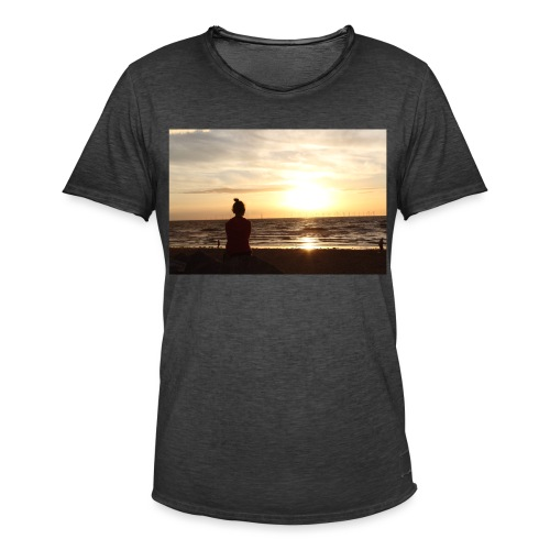 sun set - Men's Vintage T-Shirt