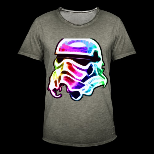Rainbow Stormtrooper - Men's Vintage T-Shirt