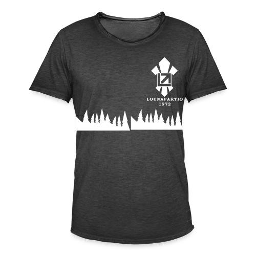 louvaatelogo - Miesten vintage t-paita