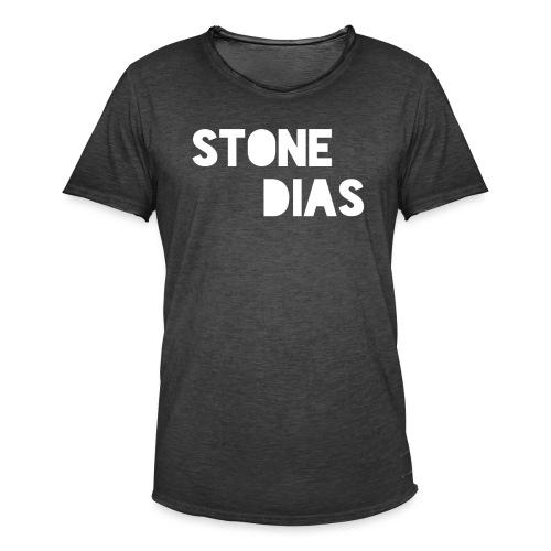 Stone Dias - Männer Vintage T-Shirt